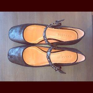 Coach Mary Jane Flat Shoes